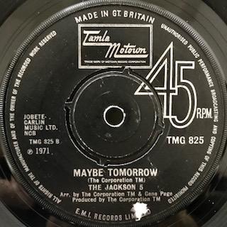 """The Jackson 5 / Maybe Tomorrow (7"""")"""