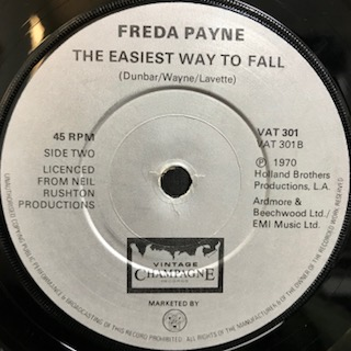 "Freda Payne / The Easiest Way To Fall (7"")"