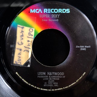 "Leon Haywood / Life Goes On (7"")"