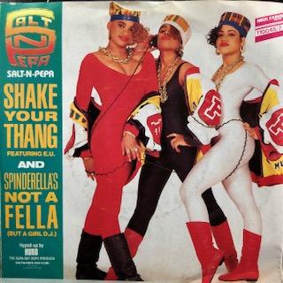 """Salt 'N' Pepa Featuring E.U. / Shake Your Thang (7"""")"""